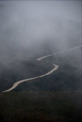 Way in the fog / Camino en la niebla