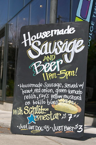Cissi's Sausage and Beer Sign