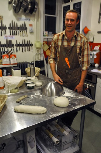 Brooklyn Kitchen bread making with Nathan Leamy