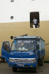 Garbage Out, Garbage In (GOGI) (noor.hilmi) Tags: garbage ship pentax vessel seaport pelabuhan sampah k100d tanjungpriok smcpfa28mmf28al limbah shipsgarbage