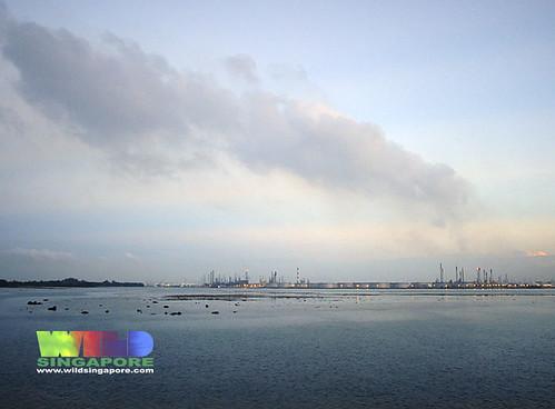 Petrochemical plants on Pulau Bukom