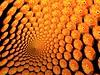 orange (fdecomite) Tags: orange circle spiral packing gimp sphere slice math doyle povray