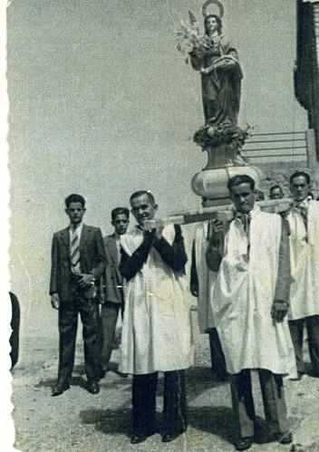Procesión de Santa Eulalia en Montón