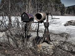 Hint of Color (bpdphotos) Tags: mailbox hintofcolor nepe billsconversation