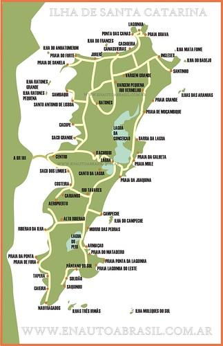 isla santa catarina mapa