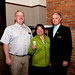 Spruce Grove Alderman Glenn Jensen, Mayor of Airdrie Linda Bruce, and Mayor of Spruce Grove Stuart Houston