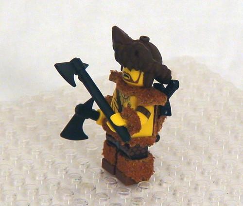 bearking custom minifig