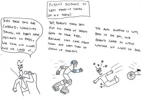 366 Cartoons - 055 - Lazy Standup Tropes