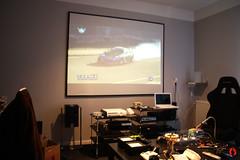 cinema home diy projector xbox beamer playstation xbmc