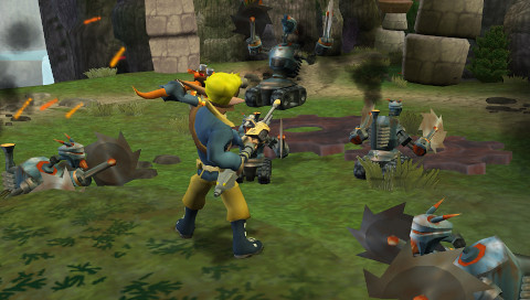 Jak and Daxter: The Lost Frontier Brink Castaway