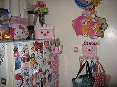pink kitchen view (kittyconde) Tags: pink kitchen cuteness