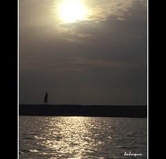 23-Amanecer en el Níger. (Ambrispuri) Tags: africa reflection water sunrise agua amanecer reflejo mali ríoníger ambrispuri