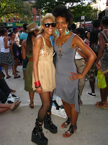 Afro Punk Block Party 7/12/09 Ladies Stylin'