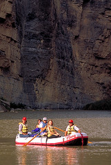 Raft in Santa Elena canyon