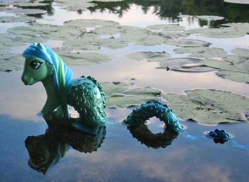Nessie the Loch-Ness Pony