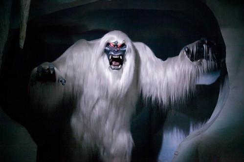 Abominable Snowman Disneyland Matterhorn