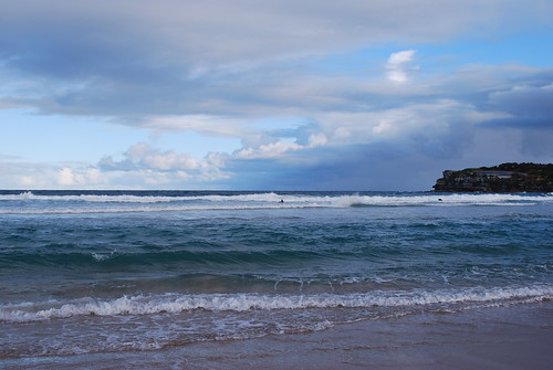 Bondi Beach (an array of ocean blue)