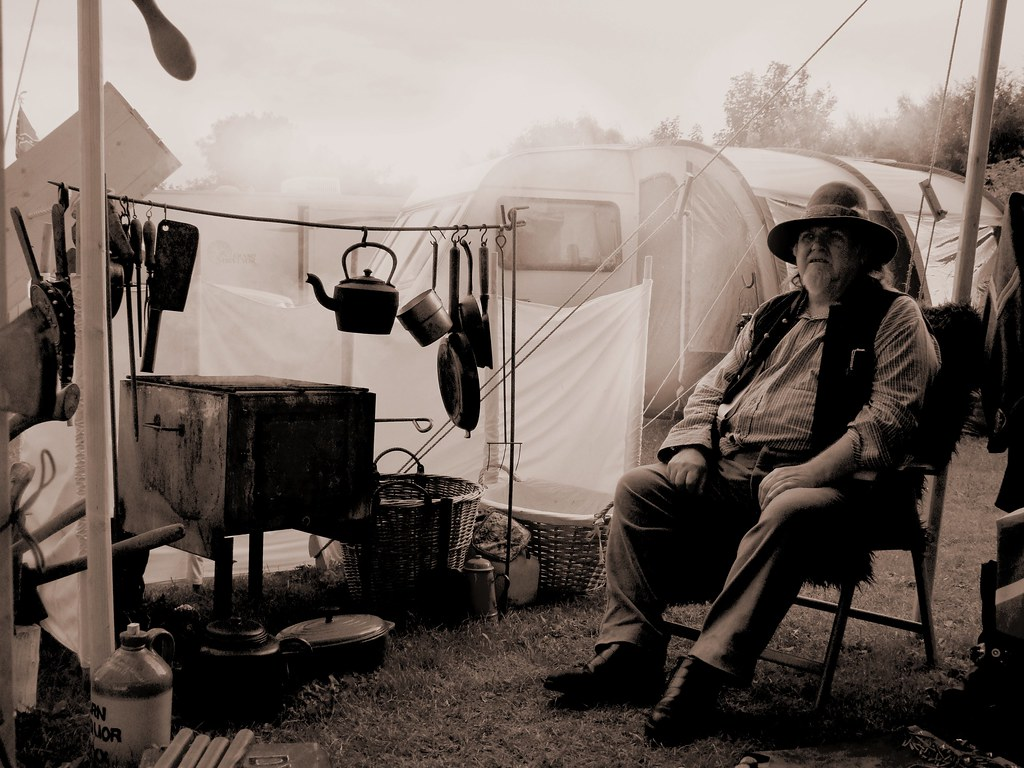 Old Style Camping