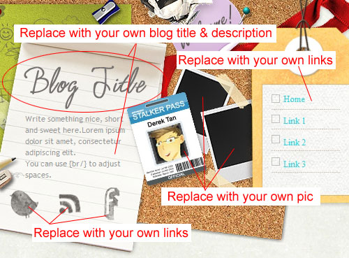 I'm Working Blogger Template Customization Ability