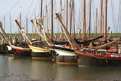 Old boats / Ameland (The Family Dog) Tags: old sea haven water waddenzee boats island sailing ship harbour ships ameland nes lowtide clipper waddensea