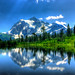 Summer at Mt Shuksan HDR by Fresnatic