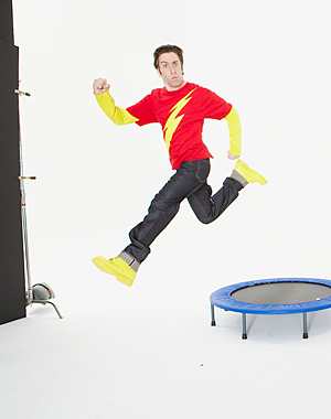 Howard Wolowitz Shazam!