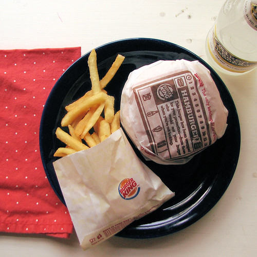 August: A Month of Meals: 11/31: Burger King