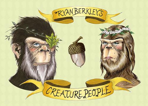 creature people at Schmancy