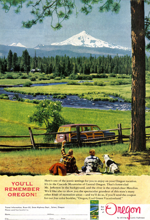 Vintage Ad #896: You'll Remember Oregon!