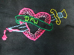 Embroidered patch for a shirt...