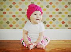 [フリー画像] [人物写真] [子供ポートレイト] [外国の子供] [赤ちゃん] [帽子]      [フリー素材]