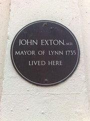 Photo of John Exton bronze plaque