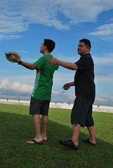 DSC_0318 (matzhuang) Tags: sun grass marinabarrage
