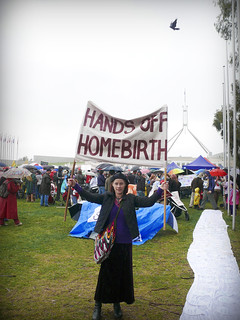 070909 Chani at the Homebirth Rights Rally