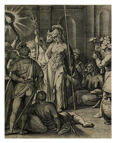 008- La disciplina corrige al pecador- Teatro moral de la vida humana1612- Otto Vaenius