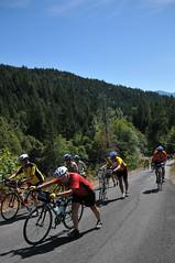 Cycle Oregon Day 3 - Happy Camp to Lake Selmac-55