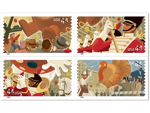 Thanksgiving Stamps