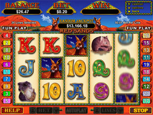 Red Sands slot game online review