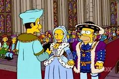 Henry VIII & Anne Boleyn wedding simpsons style (Lady_Charlotte) Tags: castle anne elizabeth jane thomas howard mary katherine simpsons tudor edward more henry homer moe aragon seymour viii vi cromwell parr cleves tudors mideval boleyn cranmer i