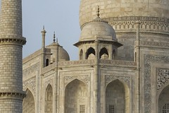 India: Taj Mahal Close Up