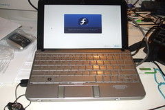 HP mini 2140 with Fedora Core 11