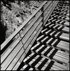 traversiner steg (schromann) Tags: wood bridge schweiz switzerland suspension via mala steg hängebrücke graubünden grisons thusis traversina conzett traversiner