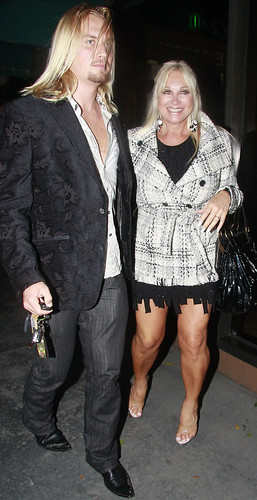 linda hogan boyfriend 2011. Linda Hogan and her oyfriend,