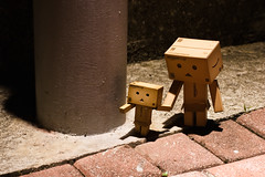 Mum, let's go to carnival! (Ali Tse) Tags: toy toys amazon limited danbo revoltech jfigure danboard 阿楞