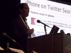 Ken Moss speaking on Real Time Search