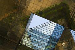 Every square counts (absurd horizon) Tags: thames square triangle geometrical citysky londonsky londonsarchitecture londonwithoutcloudscityscapecrinaborosbanksonthamessouthsouthbankonriverthames reflectedsquares