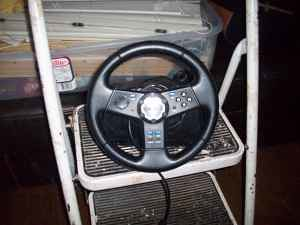 Logitech Nascar Steering Wheel PS2