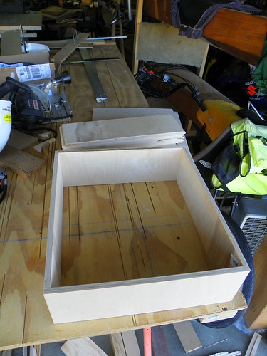 Dry Fit of one Drawer Box