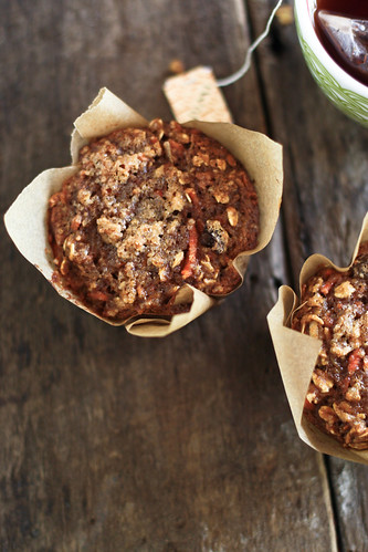 morning glory oat muffins