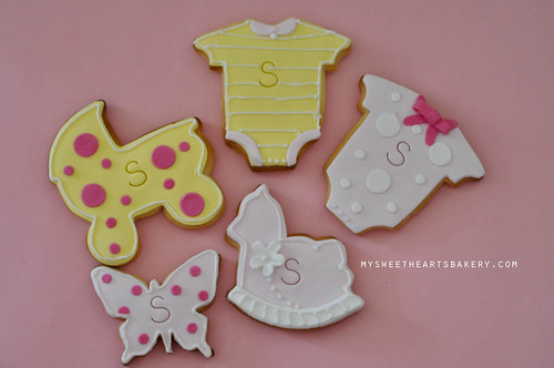 GIRL BABY SHOWER COOKIE